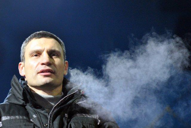 Vitali Klitschko, l'un des leaders de l'opposition.... (PHOTO GENYA SAVILOV, AFP)