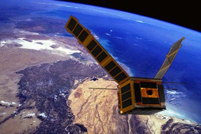 Le NEE-02 Krysaor est un cube de 10... (Photo issue d'Internet)