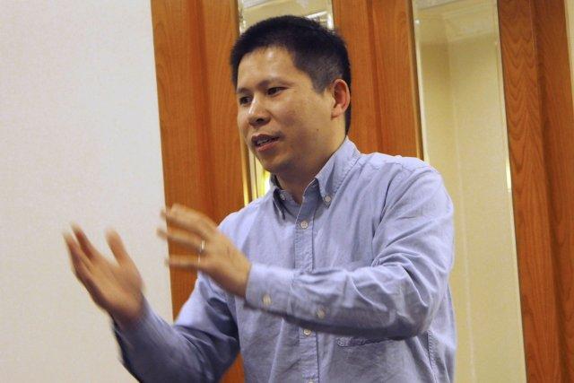 Fondateur du Mouvement des nouveaux citoyens, un réseau... (Photo Xiao Guozhen, archives Reuters)