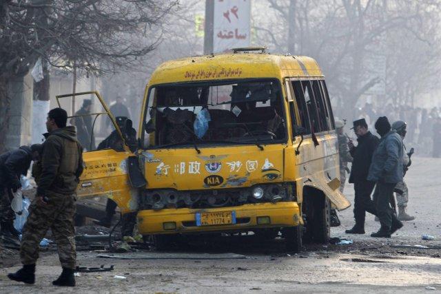 Cet attentat, revendiqué par les talibans, est le... (Photo Omar Sobhani, Reuters)