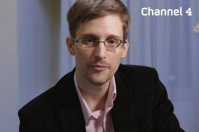 Une photo d'Edward Snowden distribuée par Channel 4 le... (PHOTO AFP/CHANNEL 4)