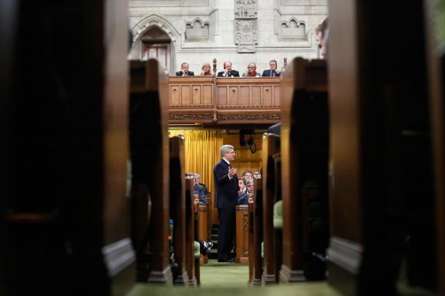 Pour le gouvernement de Stephen Harper (notre photo),... (PHOTO ARCHIVES REUTERS)