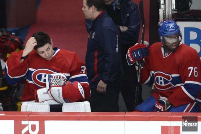 Carey Price a qualifié la situation de «frustrante»,... (Photo Bernard Brault, La Presse)