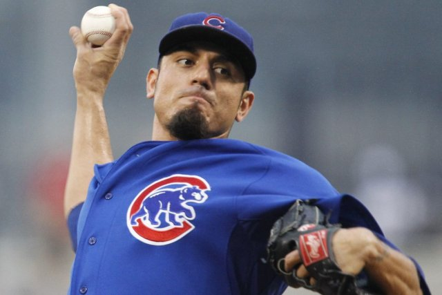 Matt Garza a compilé une fiche de 10-6... (Photo Archives AP)