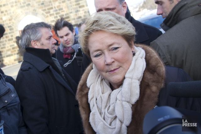 La première ministre, qui est rentrée prématurément d'une... (Photo Olivier Jean, La Presse)