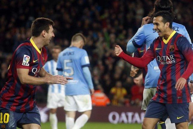 Le FC Barcelone, ébranlé cette semaine par une crise interne, s'est offert le... (Photo: Reuters)