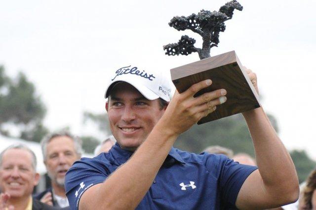 Scott Stallings a réalisé un oiselet au 18e trou pour remporter l'Omnium... (Photo: Reuters)