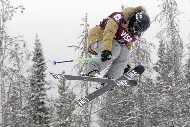 La skieuse Kim Lamarre a sorti le grand... (Photo Julie Jacobson, AP)