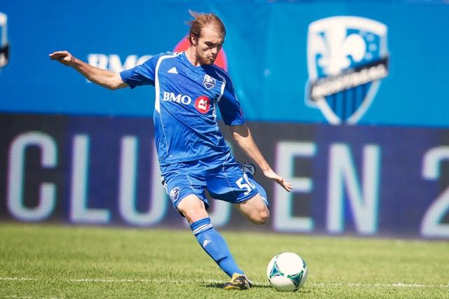 Jérémy Gagnon-Laparé a la volonté claire de suivre... (Photo fournie par l'Impact de Montréal)