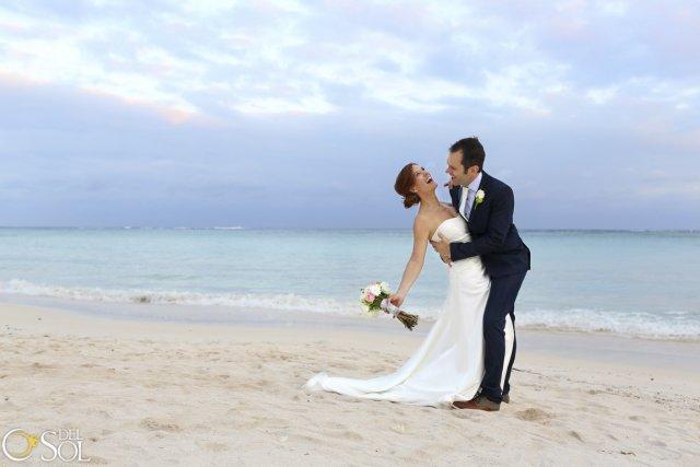 NadègeetIanse sont mariésà Tulum au Mexiquele 29 novembre... (Photo del Sol Photography, fournie par les mariés)