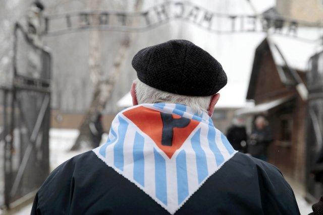 Les cérémonies du 69e anniversaire de la libération... (PHOTO KACPER PEMPEL, REUTERS)