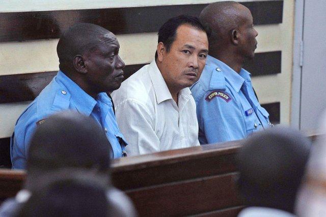 Tang Yong Jian, 40 ans, arrêté mi-janvier en... (PHOTO TONY KARUMBA, AFP)