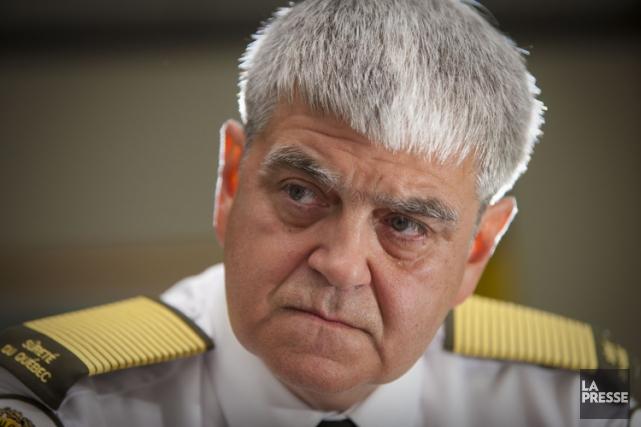 L'ancien directeur général de la Sûreté du Québec... (Photo: André Pichette, archives La Presse)