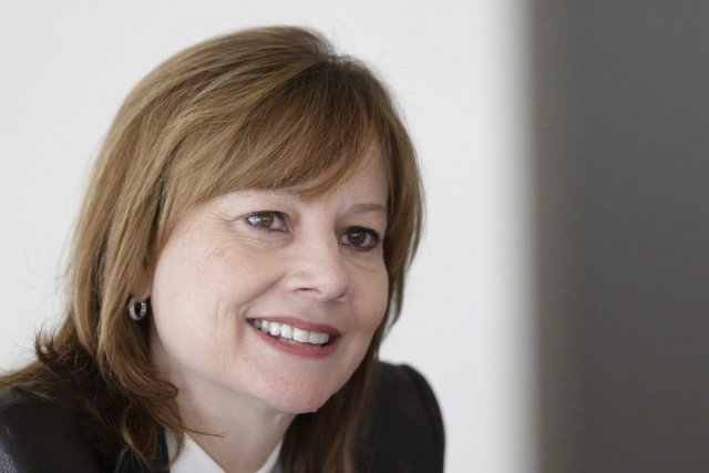 Mary Barra, ingénieure de 52 ans qui a... (Photo Reuters)