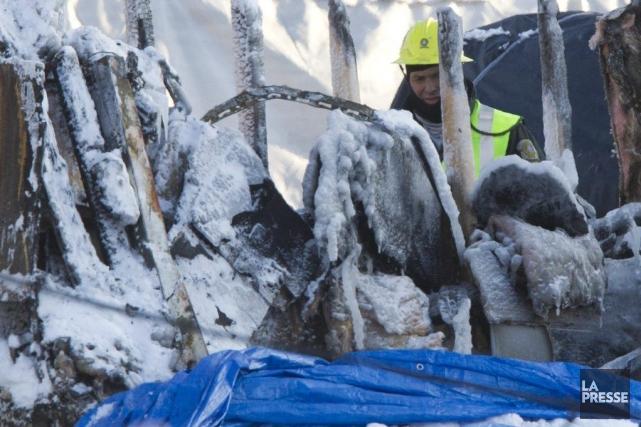Depuis le drame, 14 corps ont donc été... (Photo Olivier Jean, La Presse)