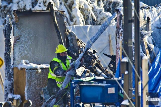 La tragédie de L'Isle-Verte soulève plusieurs questions par... (Photo Olivier Jean, La Presse)