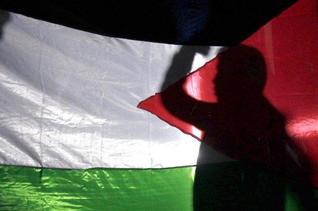 «Les frontières palestiniennes doivent, en dernier ressort, être... (PHOTO ALI JAREKJI, ARCHIVES REUTERS)
