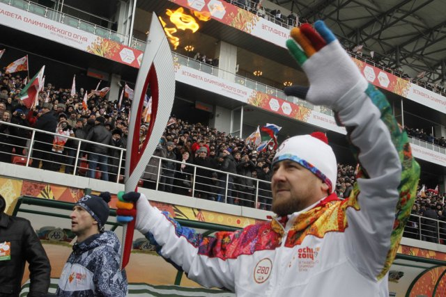 Le président de la Tchétchénie Ramzan Kadyrov a... (Photo Musa Sadulayev, AP)