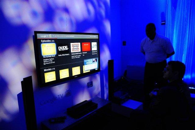 Les téléviseurs Ultra HD,aussi appelés 4K, déjà disponibles... (PHOTO EMMANUEL DUNAND, AFP)