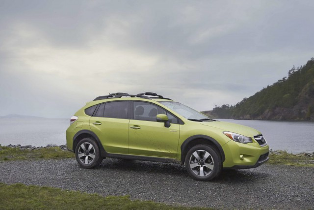 Subaru XV Crosstrek Hybrid. Crédit : Subaru...