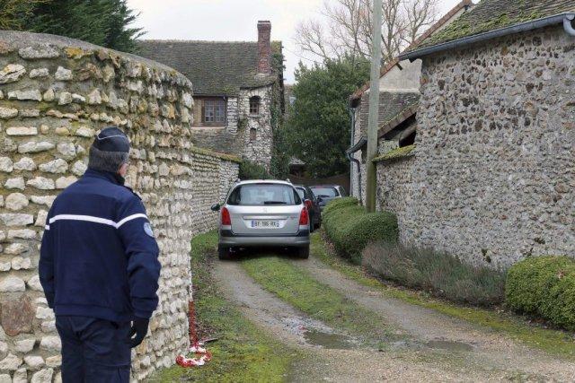 La demeure de Dieudonné à Dreux, à l'ouest... (Photo: AP)