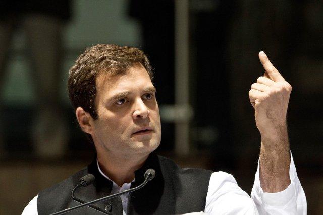 Le vice-président du Parti du Congrès Rahul Gandhi,... (PHOTO PRAKASH SINGH, ARCHIVES AFP)