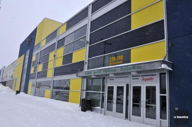 Le Complexe sportif Alphonse-Desjardins (CSAD).... (Photo: Stéphane Lessard, Le Nouvelliste)