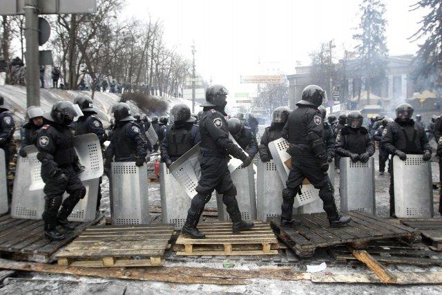 La répression policière «que nous voyons dans les... (Photo REUTERS)
