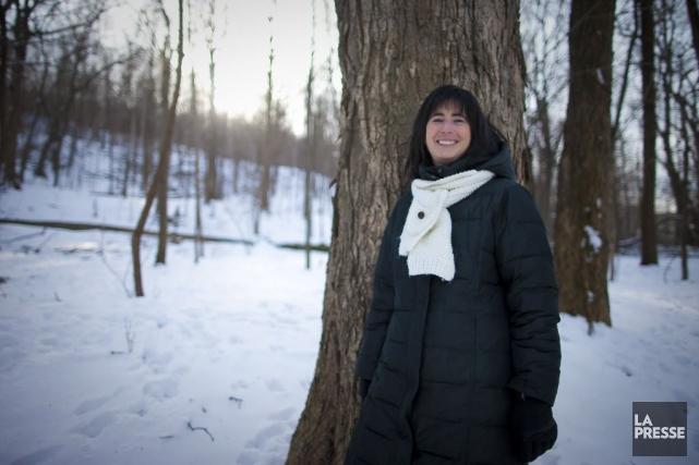 Chantal Riopelle... (Photo André Pichette, La Presse)