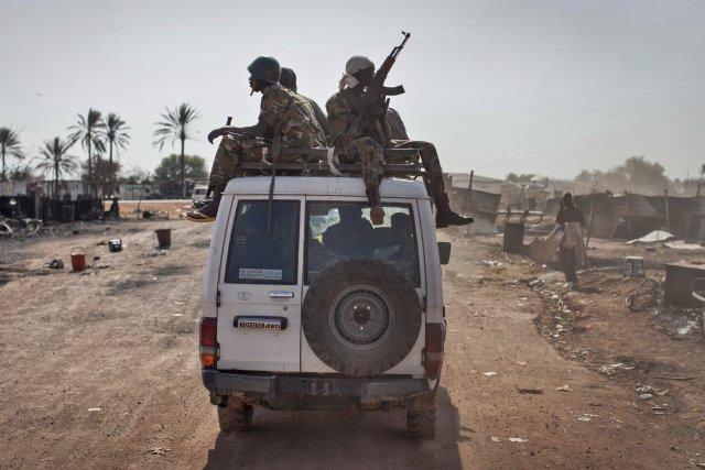 Le Soudan du Sudest plongé dans une crise... (Photo Mackenzie Knowles-Coursin, AP)