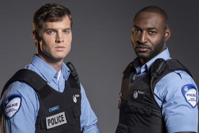 Les acteurs Jared Keeso et Adrian Holmes, qui... (Photo: PC)