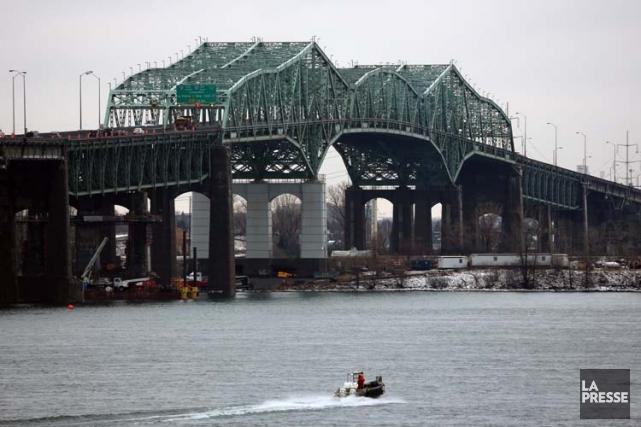 La vétusté du pont Champlain a provoqué une... (Photo: Martin Chamberland, La Presse)