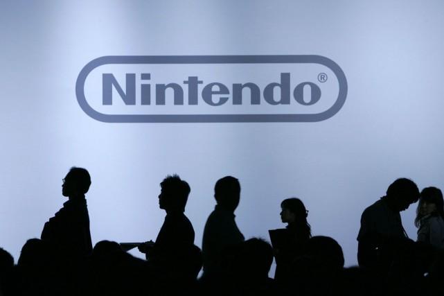 Le grand nom japonais des jeux vidéo, Nintendo (NTDOY), a... (Photo archives Reuters)