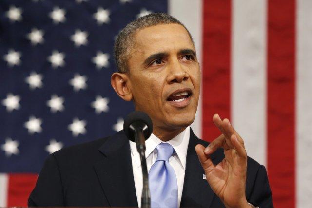 «Donnez une augmentation à l'Amérique», a lancé le... (PHOTO LARRY DOWNING, archives AFP)
