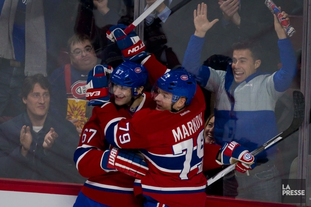 Max Pacioretty a célébré son 22e but de... (Photo André Pichette, La Presse)