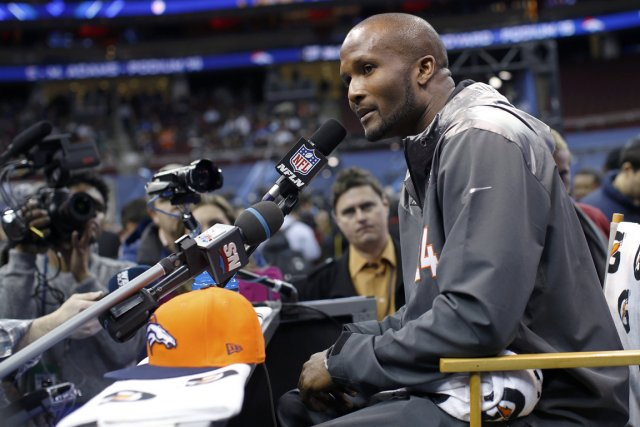 Le demi de coin Champ Bailey a pris... (Photo Shannon Stapleton, Reuters)