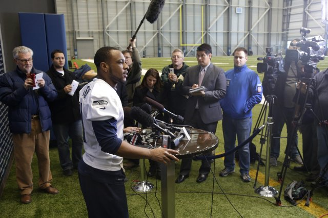 Percy Harvin... (Photo Ted S. Warren, AP)