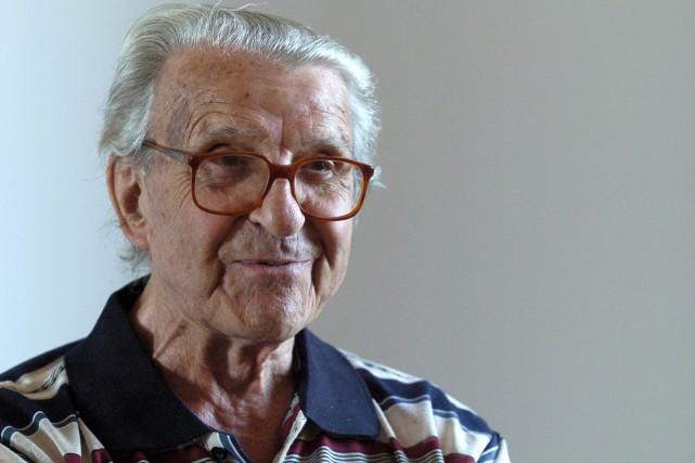 Fernand Leduc photographié en 2006.... (Photo: Robert Mailloux, archives La Presse)