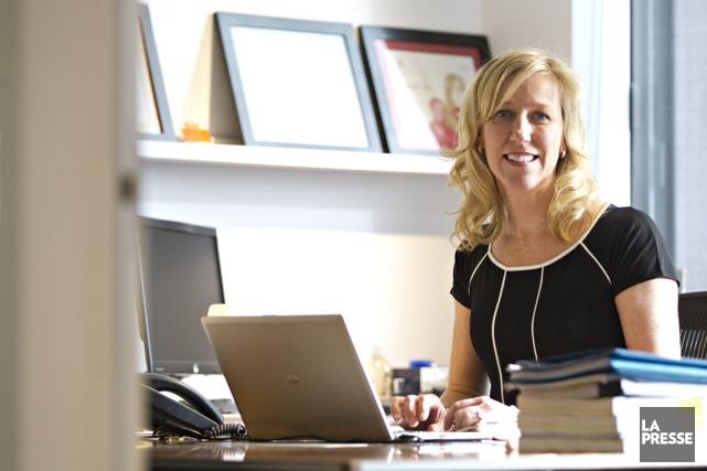 Mélanie Dunn est présidente de Cossette.... (PHOTO OLIVIER JEAN, LA PRESSE)
