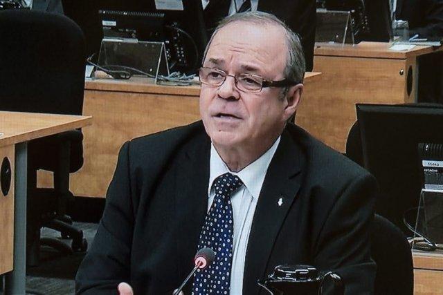 Michel Arsenault... (Image vidéo)
