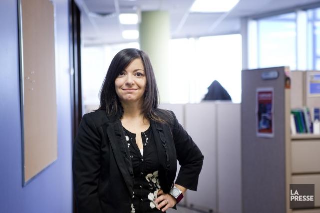 Nelly Admo, directrice générale des ressources humaines chez... (PHOTO MARCO CAMPANOZZI, LA PRESSE)