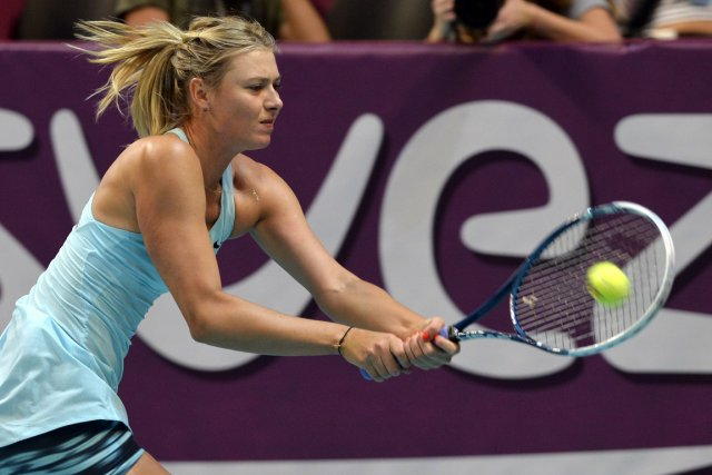 Maria Sharapova... (Photo Miguel Medina, AFP)