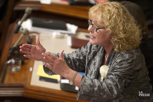 La porte-parole libérale pour les aînés, Marguerite Blais... (PHOTO IVANOH DEMERS, La Presse)