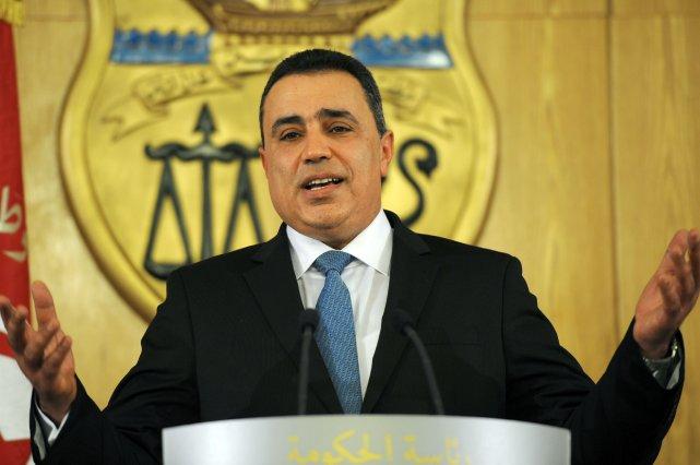 Le nouveau premier ministre tunisien,Mehdi Jomaâ,a obtenu dans... (Photo FETHI BELAID, AFP)