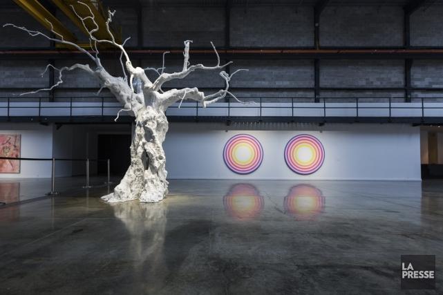 L'exposition comprend notamment trois oeuvres du Suisse Ugo... (Photo: Édouard Plante-Fréchette, La Presse)