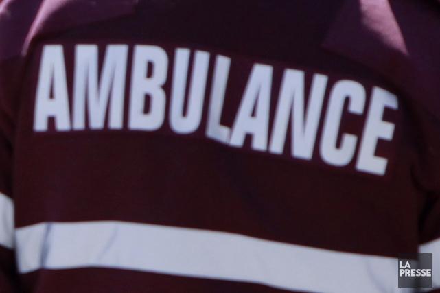 Un homme est décédé et deux autres personnes ont été blessées à la suite d'une... (Photo archives La Presse)