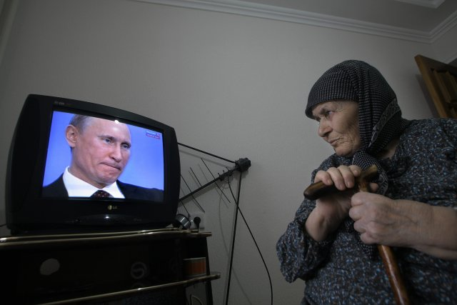 Dojd est l'un des rares médias en Russie... (Photo Musa Sadulayev, AP)