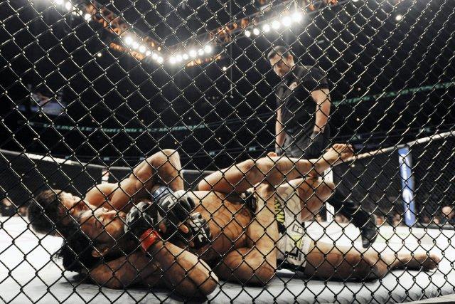 L'UFC présentera des galas à Québec, Montréal, Toronto,... (Photo Paul Beaty, archives AP)