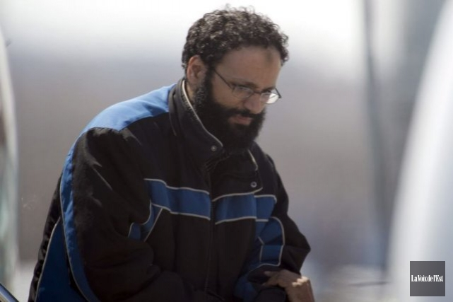 Chiheb Esseghaier, l'un des deux Canadiens accusés relativement... (Photo La Voix de l'Est)