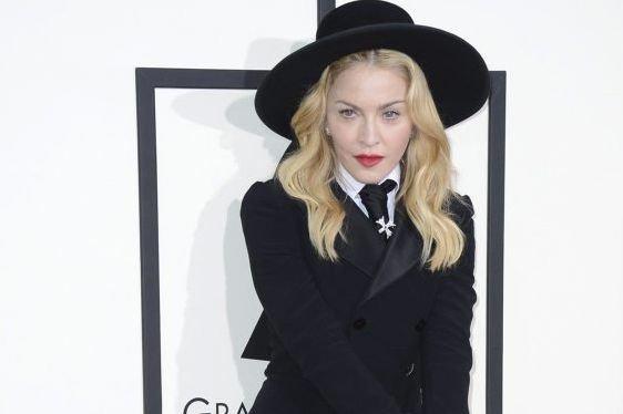 Madonna lors de sa participation aux Grammy Awards.... (Photo: AP)